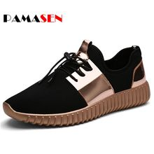 PAMASEN New Summer Breathable Shoes Men Casual Shoes Autumn Fashion Men Trainers Shoes Couple Outdoor Casual