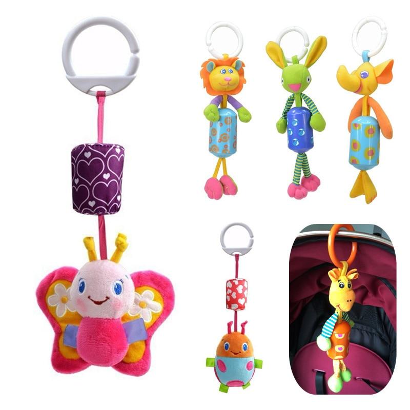 sozzy Висока якість Діти Іграшка, діти Різдвяний подарунок м'які тварини ліжко автомобіля Висячі Кільце Белл Rattle 20% Off