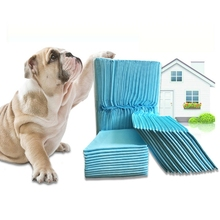 100pcs/lot Super Absorbent Pet Diaper Dog Training Pee Pads Deodorant Disposable Pad Healthy Wet Mat For