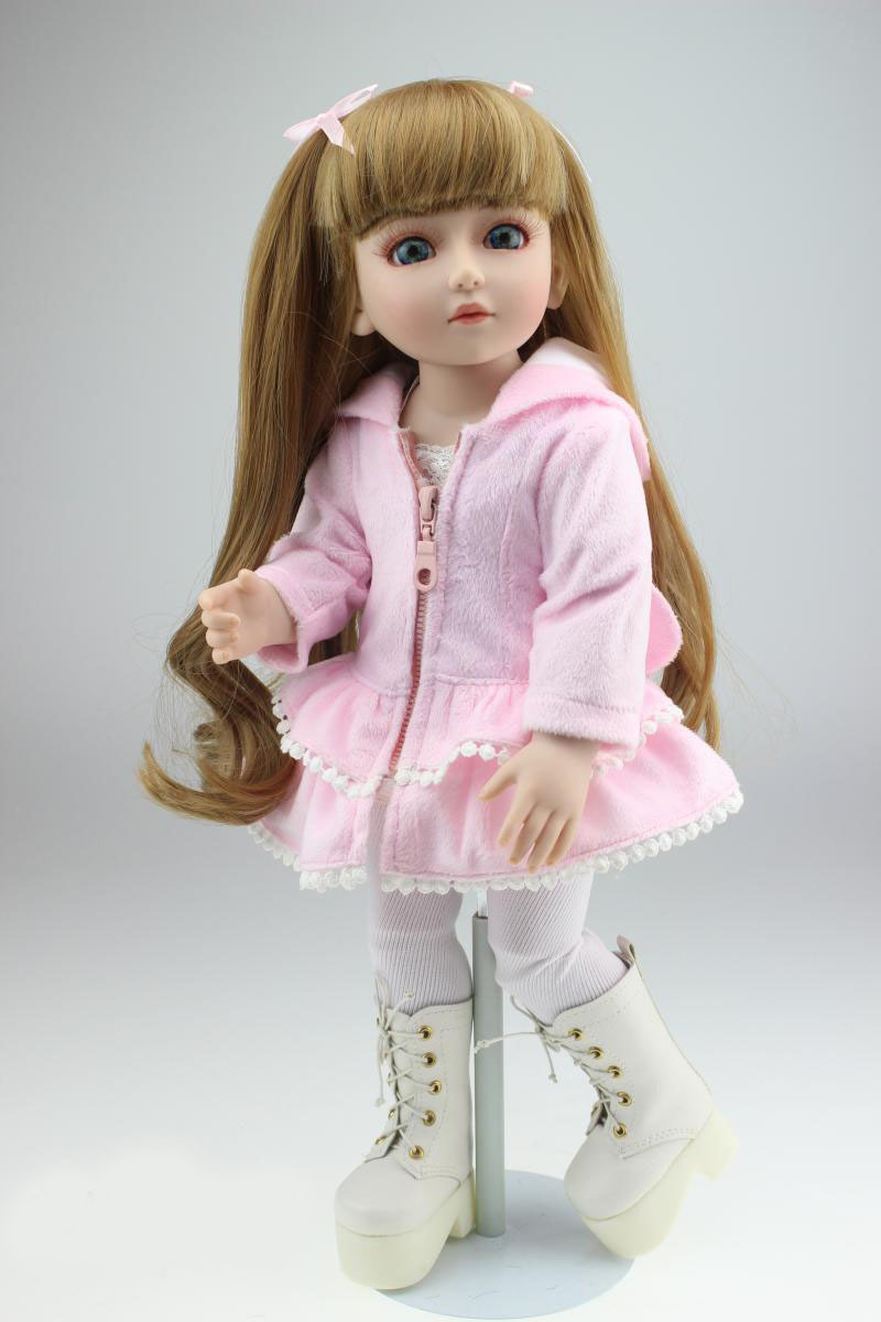 Vinyl american girl dolls SD BJD 1/4 doll toy for kids baby birthday gifts lifelike pricess dolls play house girl brinquedos lifelike american 18 inches girl doll prices toy for children vinyl princess doll toys girl newest design