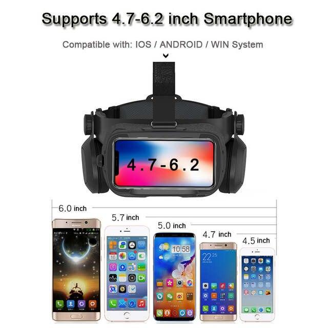 d8d6d6e25db NEW Global Version BOBOVR Z5 Virtual Reality Headset VR Box 3D glasses  Cardboard for Daydream smartphones