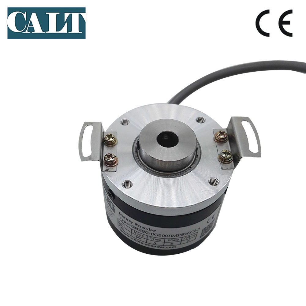 GHH52-8G100BMP526 push pull output incremental hollow shaft encoder 8mm hole 100 pulseGHH52-8G100BMP526 push pull output incremental hollow shaft encoder 8mm hole 100 pulse