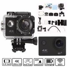 Wasserdichte 2.0 '' LCD H9 4K Ultra HD Videokamera FHD 1080P 170 Grad WiFi Sport DV Action Camcorder Sport Outdoor-Reisende