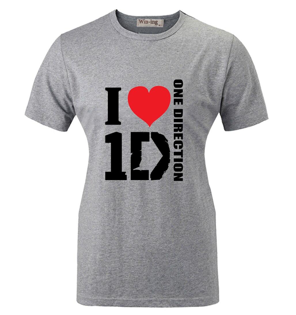 Amo Verano Direction Band One Camiseta Moda 1d Algodón Casual FznwzUIfO