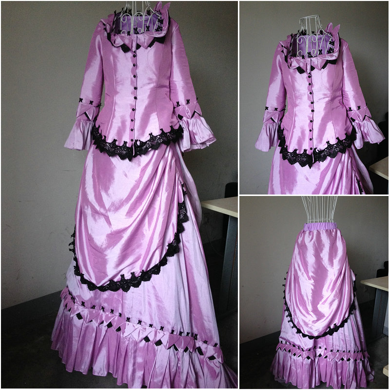 ₪On sale D-050 Victorian Gothic/Civil War Southern Belle Ball Gown ...