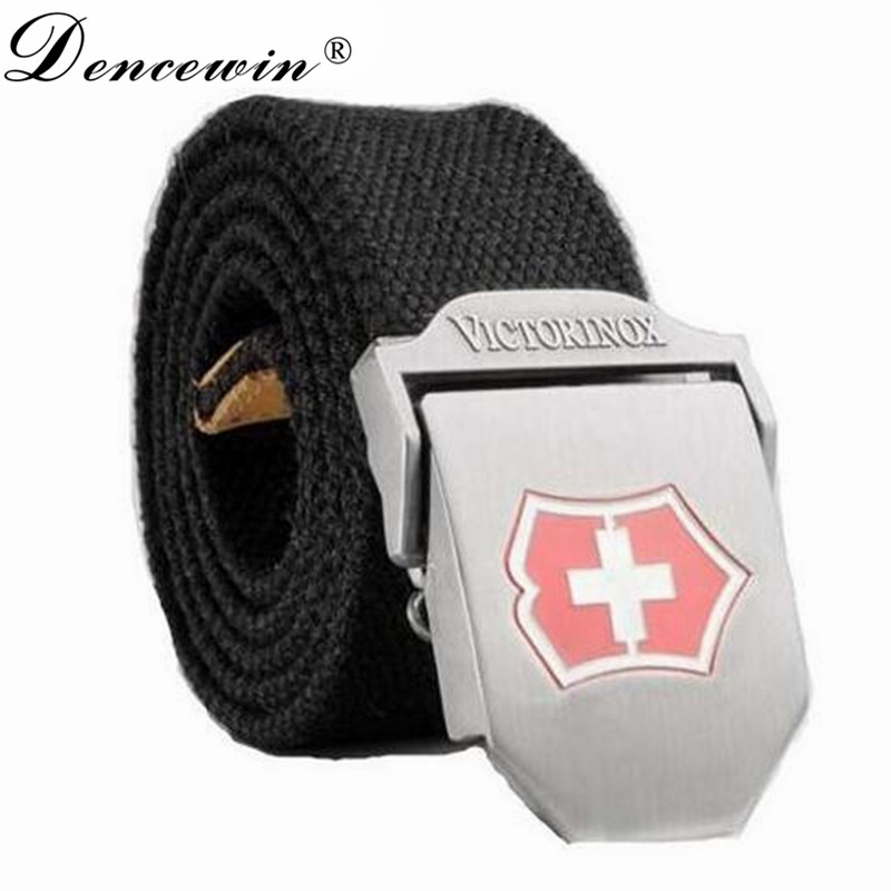 110cm fashion canvas luxury belt s