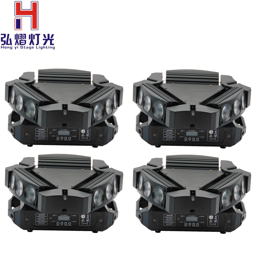 (4pcs/lot) LED Spider RGBW Beam Light 9*12W moving head led DMX512,Sound active, Master/slave, Stand alone for china moving head(4pcs/lot) LED Spider RGBW Beam Light 9*12W moving head led DMX512,Sound active, Master/slave, Stand alone for china moving head