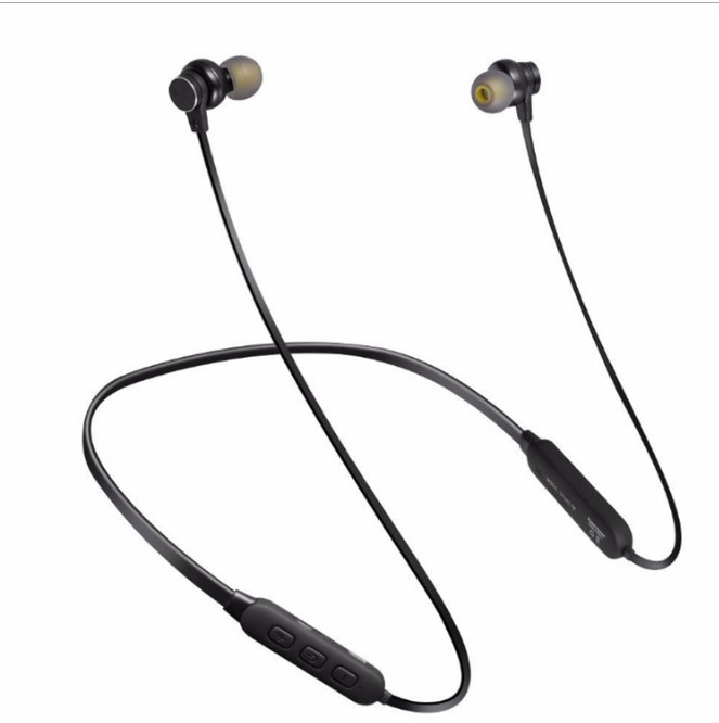 Wireless Bluetooth 4.2 Headphone Headset Sports Neckband Stereo In ear  wired Earphone With Mic For Mobilephone IPhone