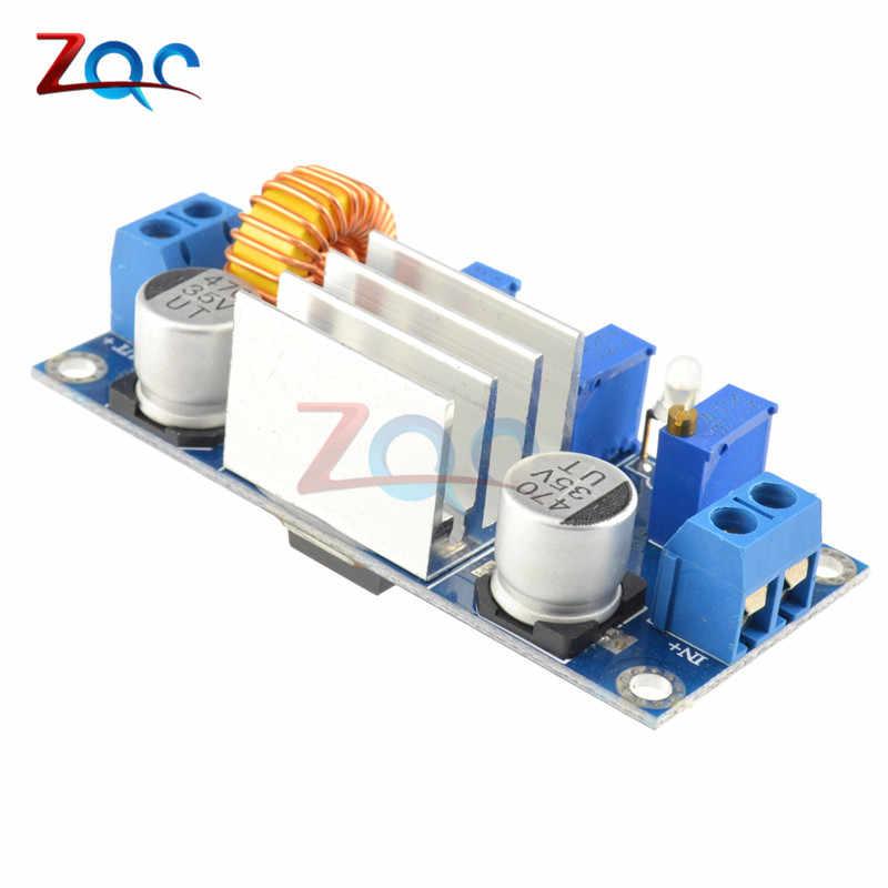XL4005 4.5 V-30 V 5A Max DC-DC abaisseur Module d'alimentation réglable CC/CV Lithium chargeur carte pour Arduino