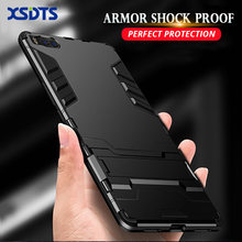 Armor Shock Proof Case For Xiaomi Pocophone F1 MI8 SE MI 8 5X 6X Mi 6 A1 A2 Lite Note 3 MI5s Plus PC+TPU Cover(China)