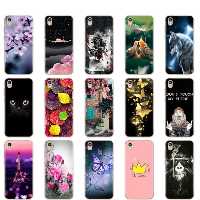 Silicone Case on Honor 8S Silicone Soft TPU Phone For Huawei Honor 8S KSE-LX9 Honor8S 8 S Case Back Cover 5.71'' coque bumper 1