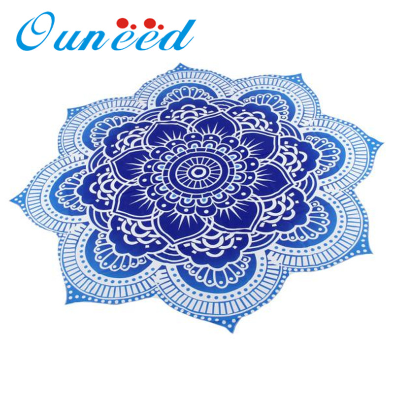 Fashion Heaven Round Beach Pool Home Shower Towel Blanket Table Cloth Yoga Mat Polyester Toalla de playa Dropshipping Feb21