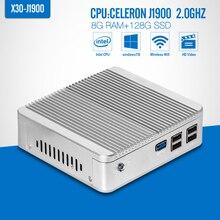 Jeu Ordinateur, J1900 N2930 N2940, VGA, Fenêtre Mini PC, Ordinateur Portable Cas, DDR3 8G RAM, SSD En Option, Mini PC, Ordinateur