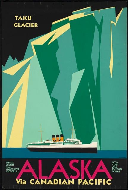 Canada Vintage Travel Tourism Alaska via Canadian Pacific Classic ...