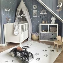 150X90 см, собачьи лапки, кисточки, одеяло для ползания, детский коврик для игры в игры, коврик для пола, украшение для комнаты