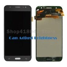 Для Samsung Galaxy J5 J500 J500F J500FN J500M J500H 2015 ЖК-дисплей Дисплей с Сенсорный экран планшета сборки можно настроить Яркость