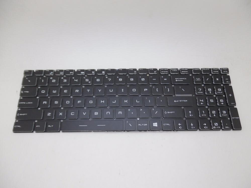 Laptop Keyboard For MSI GE62 2QC-264XCN 2QC-648XCN 2QD-007XCN 2QD-059XCN 2QD-647XCN 2QE-052CN 2QE-053XCN 2QE-216XCN 2QF-255XCN laptop keyboard for msi gp60 2qe 850ne nordic 2qe 852be 2qe 856be belgium 2qe 862jp japan 2qe 871cz czech 2qe 890xtr turkey