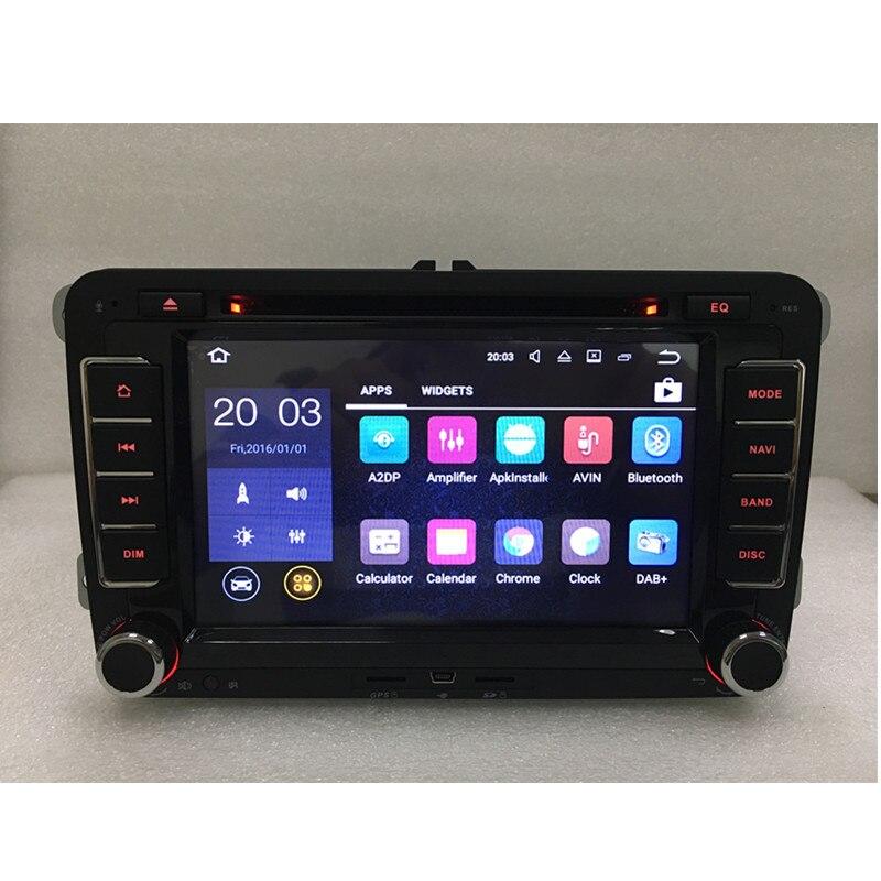 US $185 0 |RNS 510 vw radio Android HD1024X600 Original OEM Golf Jetta Mk5  Mk6 Passat CC Tiguan polo Eos sharan wifi 4G bluetooth-in Car Multimedia