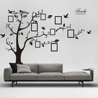 Pegatinas de pared DIY Foto Tree PVC Wall Stickers Adhesivo Pegatinas de Pared Arte Mural Decoración Para El Hogar Extraíble Wallpaper Home Decor D9
