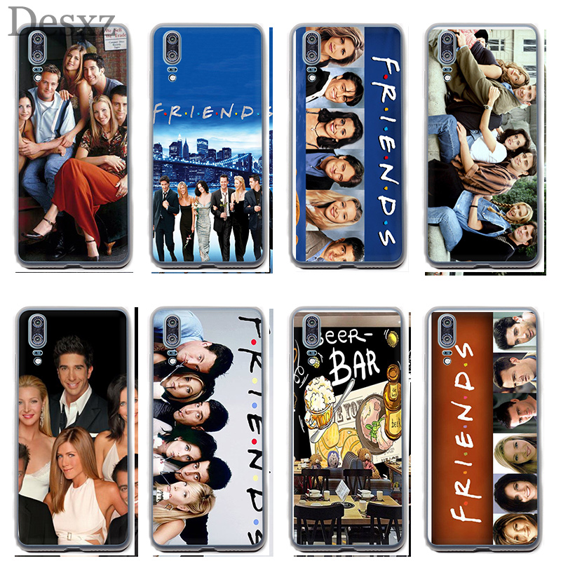 Case For Friends Tv For Huawei P8 P9 P10 P20 Pro P Smart Lite Mini Plus 2017 2015 2016 Phone Cover image