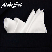 100 Natural Silk Men S Handmade Classical White Pocket Handkerchief Pocket Square Hanky With Giftbox