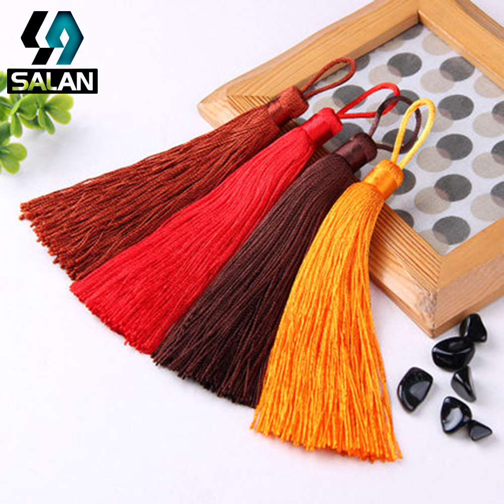 Spot wholesale DIY hand hanging spree invitation bookmarks tassel jewelry accessories Chinese knot material car hanging accessor