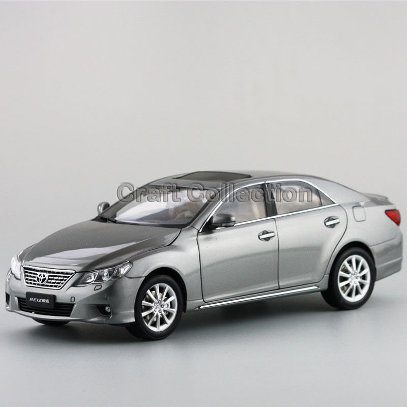 * Grey 1:18 Toyota Reiz 2010 Mark-X Mark X Ruiz Diecast Model Car New Technology Vehicle Hot Selling Miniatures