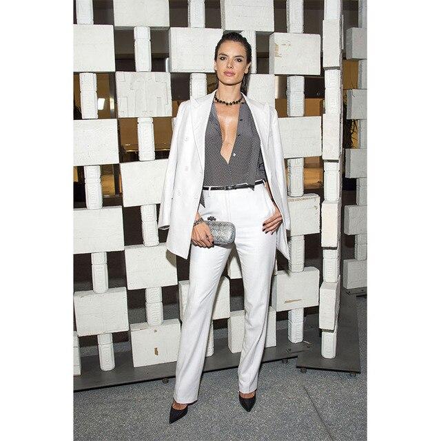 NEW White Ladies office uniform designs women business suits ...