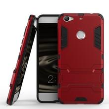 Для пусть v 1 s leeco le 1 s люкс жесткий броня задняя крышка двойной слой прохладный телефон оболочки стенд принципиально капа case 2 в 1 шт. + тпу