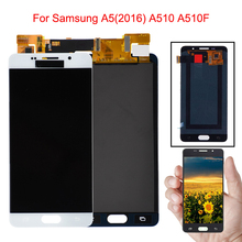 5.2 A510F LCD For Samsung Galaxy A5 2016 A510 A510F LCD Display Touch Screen Assembly For Samsung A5 2016 A510 SM-A510F Display samsung galaxy a5 2016 sm a510f black