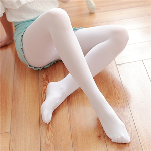 Image 2 - Spring And Autumn Casual Velvet Pantyhose Japanese Soft Sister Solid Color Thin Stockings High Waist Sexy Tight Long Stockings