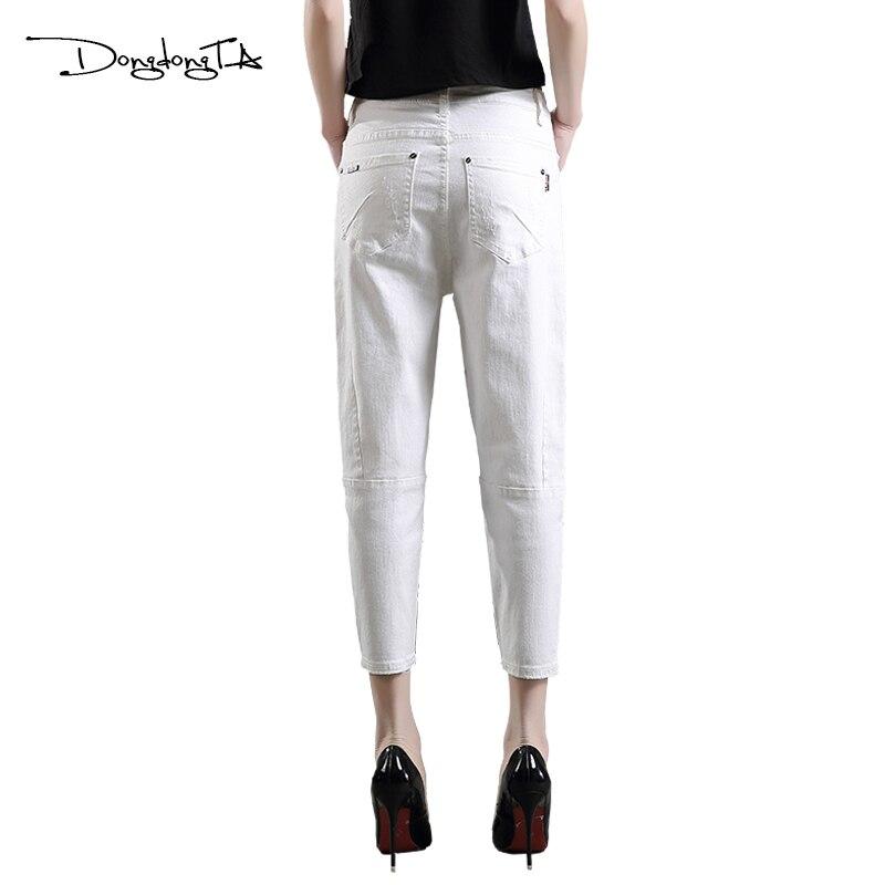 Dongdongta Cross-pants Kobiety Dziewczęta Luźne spodnie do kostki - Ubrania Damskie - Zdjęcie 4