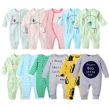 Autumn Baby Rompers Christmas Baby Boy Clothes Newborn Clothing Cotton Baby Girl Clothes Roupas Infant Jumpsuits Newborn Rompers(China)