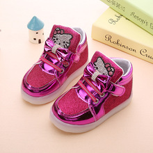 Child Luminous Sneakers with Led