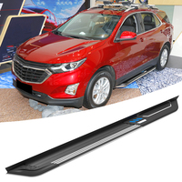Outside Auto Foot Running Boards Nerf Bars Side Step For Chevrolet Equinox 2017 2018