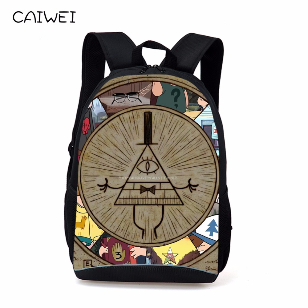 2018 cartoon Mabel Gravity Falls kids school bags girl shopping teenager backpacks for student boys Travel bags free shipping ...