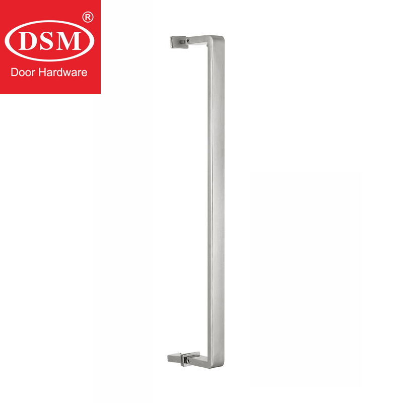 Shower Door Handle 304 Grade Stainless Steel Pull Handles For 6mm~12mm Thick Glass PA-647-25*10*460mmShower Door Handle 304 Grade Stainless Steel Pull Handles For 6mm~12mm Thick Glass PA-647-25*10*460mm