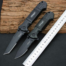 440SS Steel Blade Survival Knife Walther Pocket Folding Knife Hunting Tactical Knives Camping Outdoor EDC Tools y70