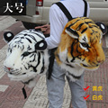 2016 new backpack bag style simple style of the tiger style shopping travel black gray