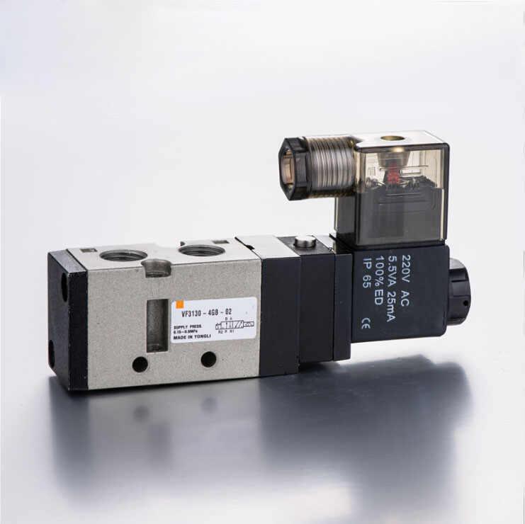 """Pneumatic Control Details about  /1//4/"""" 2 Position 5 Port STNC Air Solenoid Valves TG2521-08"""