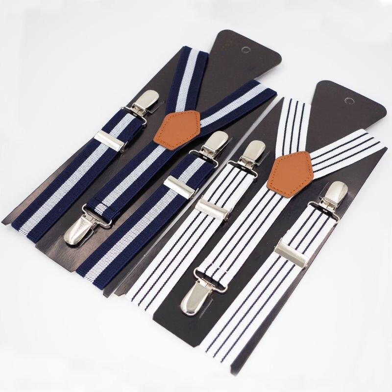 Kids Suspenders Baby braces 3 clips Tirantes Elastic Bretelles Belts Student Suspensorio 2.5*65cm