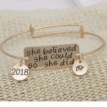 Она верила что она может так и сделала браслеты вдохновляющие
