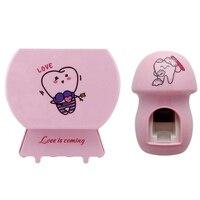 Стерилизатор зубной щетки держатель для зубной щетки автоматический комплект для зубной пасты диспенсер Домашний набор для ванной