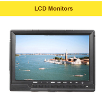 FW760 7 Inch IPS Full HD 1920 * 1200 Support 4K On Camera Field Monitor 5 16V Voltage Contrast 450cd/m2 LCD Monitors