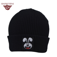 Fashion Adult Beanie Customized Knit Hats Winter Caps Knitting LOGO Embroidery Beanies Casual Warm Ear Caps