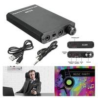 Portable Audio HIFI Headphone Amplifier Earphone AMP With Audio USB Cable Amplifier Earphone And HIFI