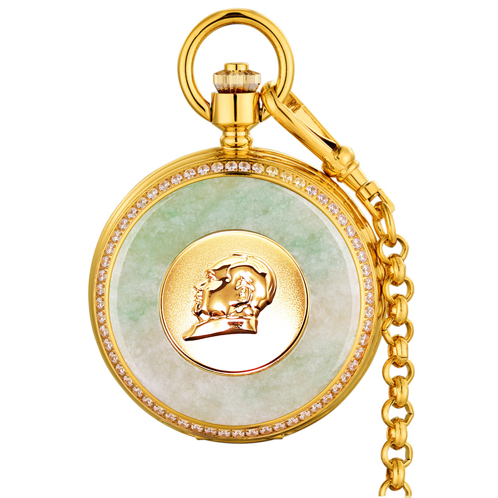 New men pocket watch jade man clock hollow perspective window popular creative men clock retro male pocket watch business clockeNew men pocket watch jade man clock hollow perspective window popular creative men clock retro male pocket watch business clocke