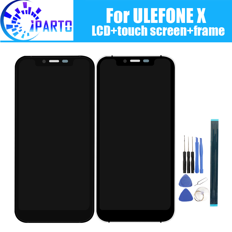 ULEFONE X LCD Display+Touch Screen Digitizer +Frame Assembly 100% Original New LCD+Touch Digitizer for ULEFONE XULEFONE X LCD Display+Touch Screen Digitizer +Frame Assembly 100% Original New LCD+Touch Digitizer for ULEFONE X
