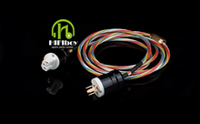 HIFIboy Hi-End Hifi Audio Power Cable Power Cord with American Standard  Plug 4 square AC cable line