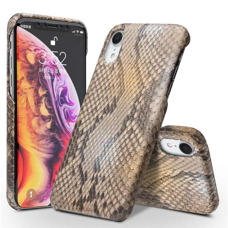 Customized product! Nature Genuine Leather Python Skin Back Cover for iPhone X XS XR Max Luxury Ultra Thin Back Cover CasesCustomized product! Nature Genuine Leather Python Skin Back Cover for iPhone X XS XR Max Luxury Ultra Thin Back Cover Cases